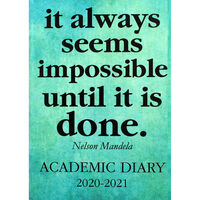 A5 Nelson Mandela Day a Page 2020-21 Academic Diary