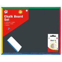 Kids Chalk Board Set