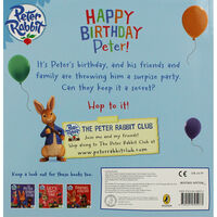 Peter Rabbit: Happy Birthday Peter!