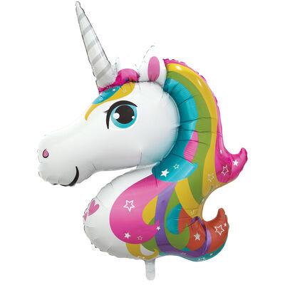 Unicorn Super Shape Helium Balloon image number 1