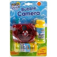 Bubble Camera with Bubble Solution