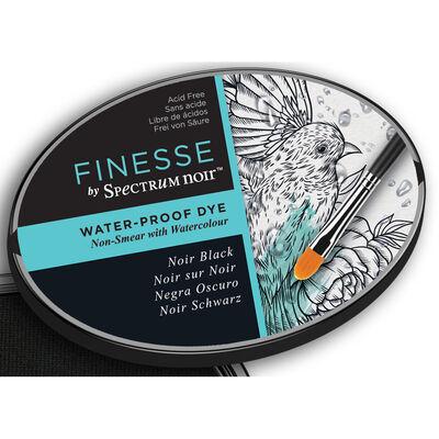 Finesse by Spectrum Noir Water Proof Dye Inkpad - Noir Black image number 4