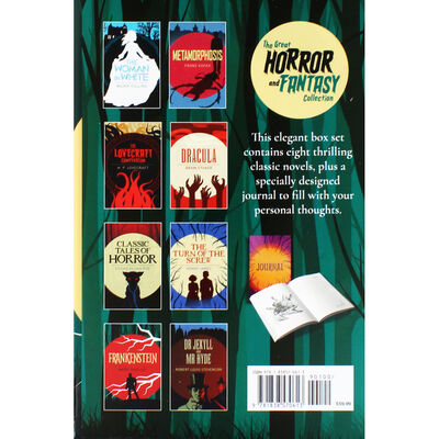 The Great Horror and Fantasy Collection: 9 Book Box Set image number 4