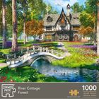 River Cottage Forest 1000 Piece Jigsaw Puzzle image number 1