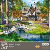 River Cottage Forest 1000 Piece Jigsaw Puzzle