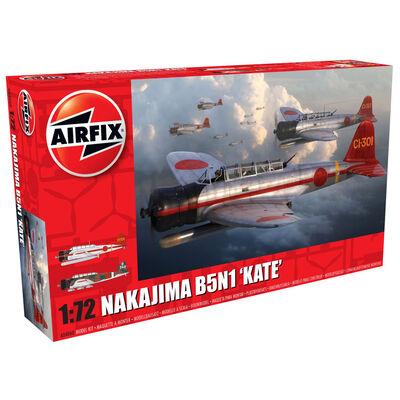 Airfix Nakajima B5N1 Kate 1-72 Model Kit image number 1