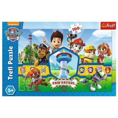 Paw Patrol Heroes 100 Piece Jigsaw Puzzle image number 2