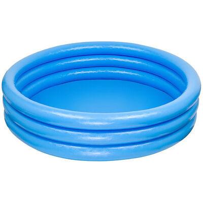 Intex Inflatable Three Ring Paddling Pool image number 1