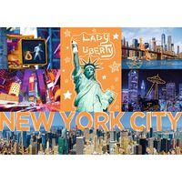 Neon City New York 1000 Piece Jigsaw Puzzle