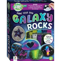 Zap Extra: Paint Your Own Galaxy Rocks Kit