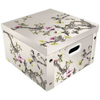 Japanese Bird Collapsible Storage Box