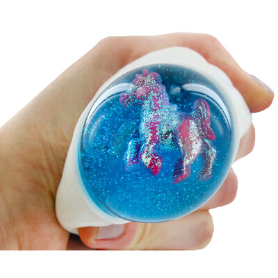 Rainbow Unicorn Squishy Slime Toy image number 2