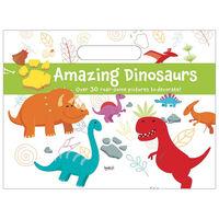 Amazing Dinosaurs Colour Pad