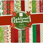 Traditional Christmas Paper Pad 12 x 12 Inch image number 1