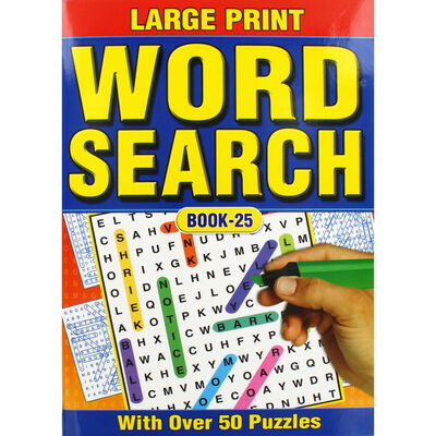 Large Print Wordsearch: Assorted Books 25-28 image number 1