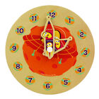 Cbeebies My First Wooden Clock - Assorted image number 1