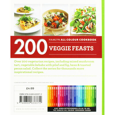 200 Veggie Feasts image number 3