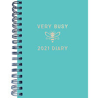 A6 Very Busy 2021 Week To View Diary