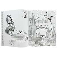 Harry Potter Celebratory Edition Colouring Book