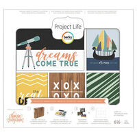 American Crafts: Project Life Daring 616 Piece Card Kit