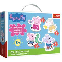 My First Peppa Pig 4-in-1 Jigsaw Puzzle Set