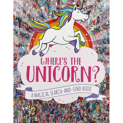 Wheres the Unicorn?: A Magical Search-and-Find Book image number 1
