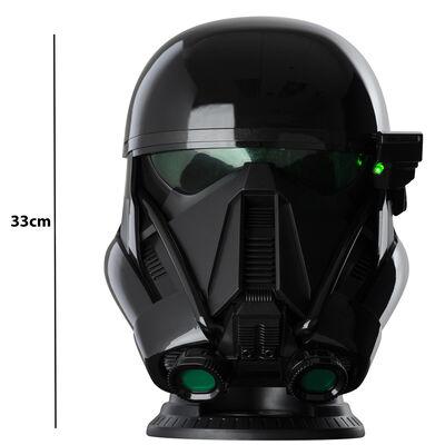 Giant Star Wars Death Trooper Helmet Bluetooth Wireless Speaker image number 2