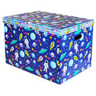 Spaceman Jumbo Magnetic Collapsible Toy Box image number 1