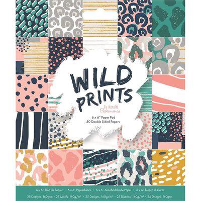 6x6 Paper Pad Wild Prints image number 1