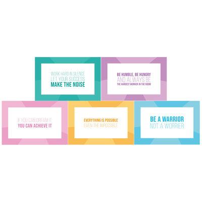 Motivational Revision Cards - 50 Pack image number 2