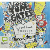 Tom Gates Excellent Excuses: MP3 CD