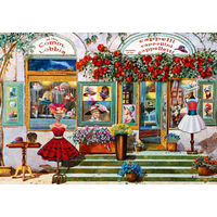 The Hat Boutique 500 Piece Jigsaw Puzzle
