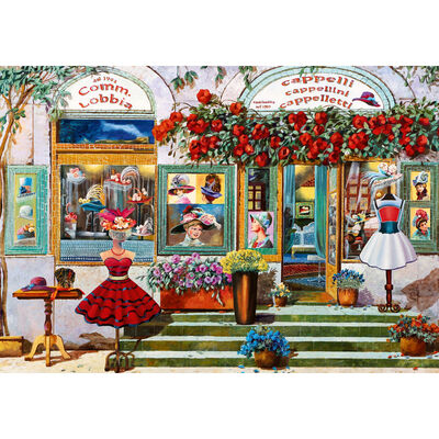 The Hat Boutique 500 Piece Jigsaw Puzzle image number 2
