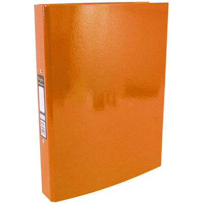 Bright Orange A4 Ring Binder File image number 1