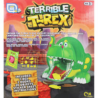 Terrible T-Rex Chomping Game