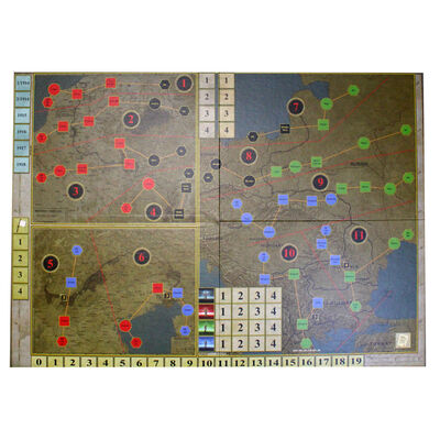 The First World War Strategy Board Game image number 2