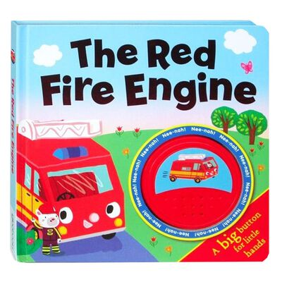 The Red Fire Engine Big Button Sound Book image number 1