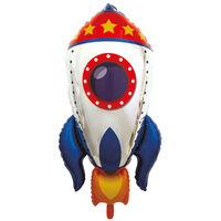 Rocket Super Shape Helium Balloon