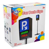 Role Play Car Park Sign