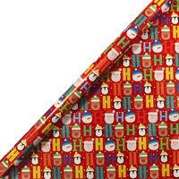 Christmas Gift Wrap 10m: Assorted Design