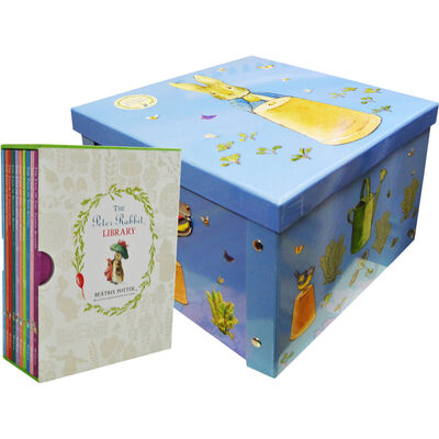Peter Rabbit Library and Collapsible Storage Box Bundle image number 1