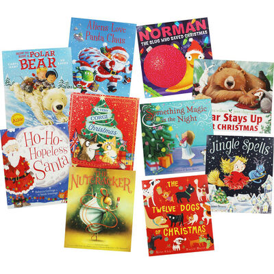 Winter Magic: 10 Kids Picture Books Bundle image number 1