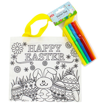 Colour Your Own Easter Bag image number 1