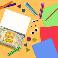 A4 Craft Planet White Card: Pack of 30