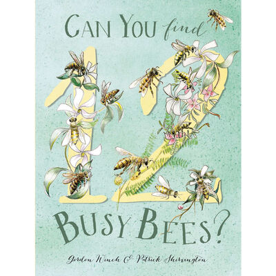 Can You Find 12 Busy Bees image number 1