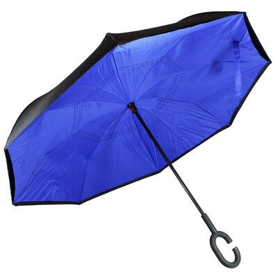 Blue Backwards Brolly Inside Out Umbrella image number 1