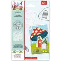 Natures Garden Gnomes Stencil and Die – Gnome Home