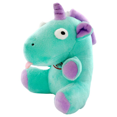 Snuggly Green Unicorn with Magical Sound Effect image number 3