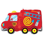 30 Inch Fire Truck Super Shape Helium Balloon image number 1