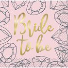 Hen Do Diamond Small Napkins - Pack of 16 image number 1